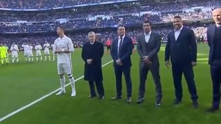 Cristiano Ronaldo Shows Ballon D'Or 2016 to Santiago Bernabeu  Real Madrid vs Granada 5 0