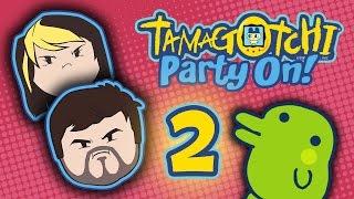 Tamagotchi Party On!: Campaigning Hard - PART 2 - Grumpcade