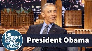 President Obama Explains His Old-School Blackberry