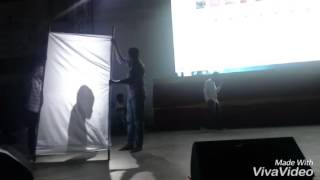 Amazing dance performance by Vijay Kumar on nannaku prematho song in cvsr collage