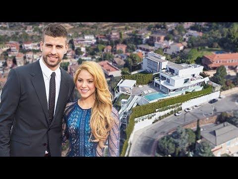 Xxx Mp4 Gerard Pique Amp Shakira House In Barcelona Interior Amp Exterior Inside Tour 2018 NEW 3gp Sex