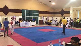 Taekwondo SUKIPT 2018- Muhd Danial VS Jimmy Jeremy Dass