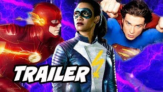 The Flash 4x16 Promo - Iris West Purple Lightning and Smallville Easter Eggs
