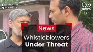 Demand For Whistleblower Protection