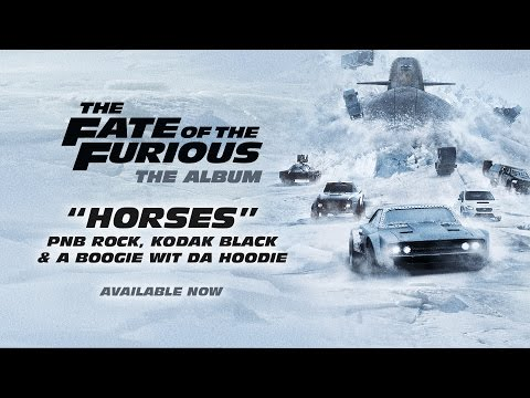 Download Lagu PnB Rock, Kodak Black & A Boogie – Horses (from The Fate of the Furious: The Album) [OFFICIAL AUDIO] MP3