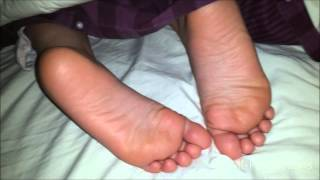 Sleeping Girl Feet