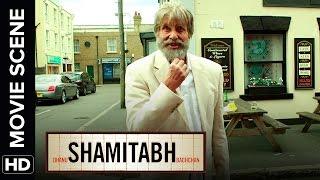 "Amitabh wants to be the next ""Robert De Niro"" | Shamitabh | Movie Scene"