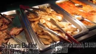 Sakuri Buffet Sushi Hibachi and Seafood in Savannah Georgia