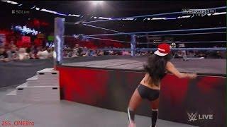 Maryse slaps Cena Nikki Bella MIZ WWESMACKDOWN