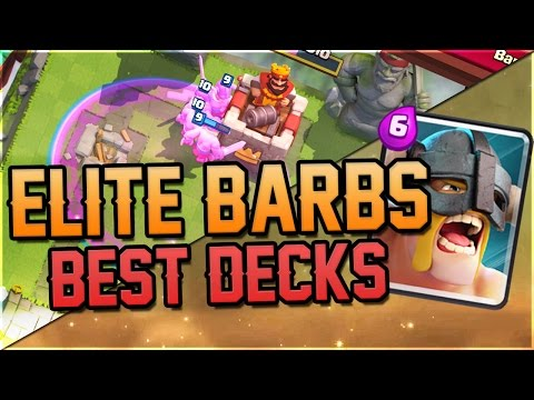Elite Barbarian Cycle Deck 2 6 Elixir Insanely Fun In