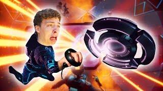 INSANE VR FLYING DISK GAME! (Echo Arena)