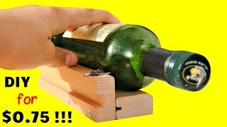 How to Make a Glass Bottle Cutter | How to Cut Glass Wine Bottles WITHOUT a Store-bought Cutter!