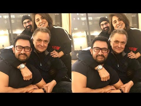 Xxx Mp4 Aamir Khan Visits Patient Rishi Kapoor And Neetu Kapoor In New York 3gp Sex