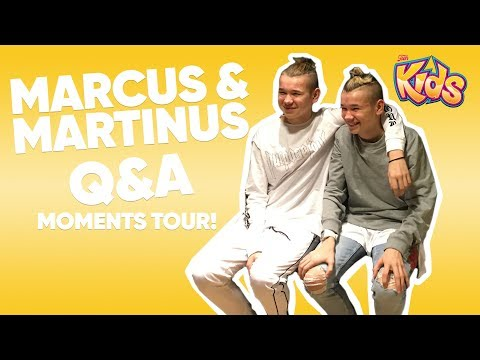 Marcus & Martinus - Moments Tour Q&A - 14 Jan 2018 - Filtr Kids