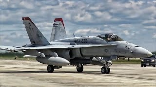 U.S. Marine Corps Aviation • F/A-18C Hornet Jet Fighters