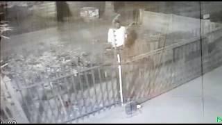 Domust criminal with 16 000 volt electical fence