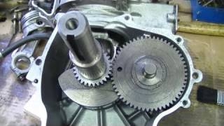 Crankshaft & Camshaft Timing Marks on Tecumseh Engines