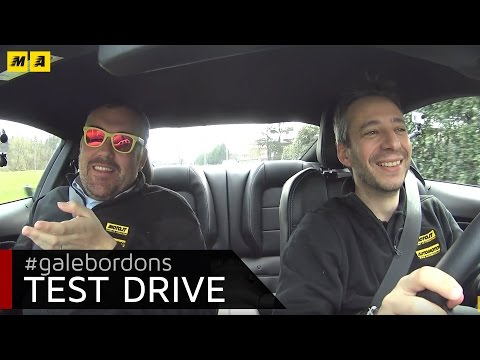Ford Mustang test drive AMboxing