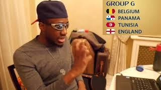 World Cup 2018 Group G Analysis    Belgium, Panama, Tunisia, England
