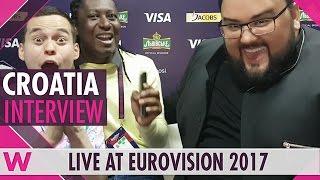 Jacques Houdek (Croatia) interview @ Eurovision 2017 | wiwibloggs