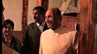 Rare Historic video of Hazir Imam Aga Khan's visit to Pamir Mountains(May 1995)