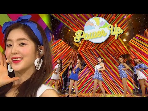 《Comeback Special》 Red Velvet(레드벨벳) - Power Up @인기가요 Inkigayo 20180812