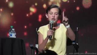 Millie Bobby Brown raps Nicki Minaj