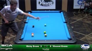 2015 Junior 9-Ball Challenge: Ricky Evans vs Vincent Evans