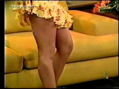 Ingrid Coronado Sexi Vestido Amarillo Clasico