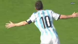 Lionel Messi Goal 2014 World Cup Argentina vs Iran 21 06 2014 HD