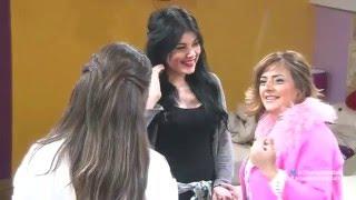 عائلتا مروان يوسف و رافاييل جبور تزوران الاكاديمية عشية الكريسماس - ستار اكاديمي 11 - 24/12/2015