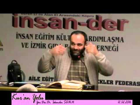 KUR'AN YOLU DERS 16 Yar Dç Dr İskender Şahin 12 02 2016~1