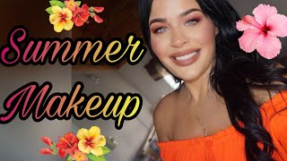 Glamping Summer Makeup Essentials! !Urban Decay Stay Naked,  Makeup & Beauty Travel Vlog