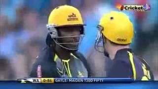 Live ipl 6 2013 Chris Gayle Hits Dhamaka SUPER SIX RCB