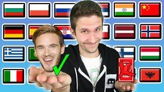 "PewDiePie Vs T-Series: How To Say ""BITCH LASAGNA!"" In 24 Languages"