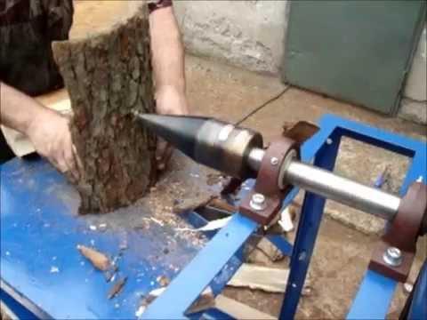Łuparka do drewna świdrowa Kegelholzspalter Log Splitter