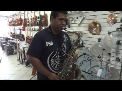 Kassio Monteiro Sax - Tocando Tenor Yamaha YTS 23