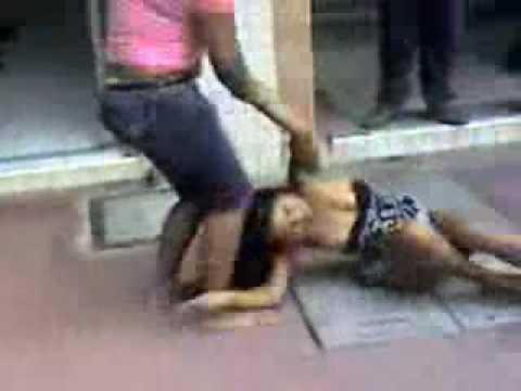 pelea muy chevere Colombia Esposa vs Amante