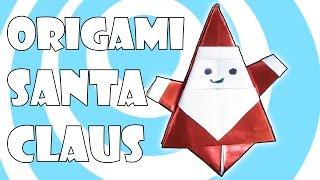 DIY: Origami Santa Claus 🎅 Tutorial 🎬 (Matsuno Yukihiko)