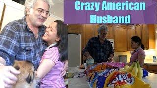 Crazy American Husband 😀 😂 || MaryAnn.A