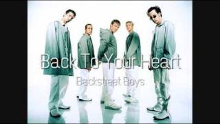Backstreet Boys - Back To Your Heart (HQ)