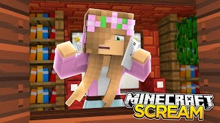 Minecraft - LITTLE KELLY IS STALKED BY SCREAM!