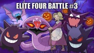 Elite Four Battle #3 (AGATHA) Halloween Special - Pokemon Battle Revolution (1080p 60fps)