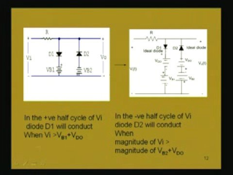 Module - 1 Lecture - 6 Clipping and Clamping Circuits