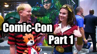 Joe Goes To Comic-Con 3 (Part 1)