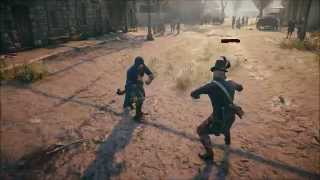 Assassin's Creed Unity Sword Fight