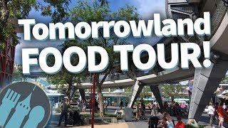 Disney World Food Tour: EVERY Food Location in Magic Kingdom's Tomorrowland!