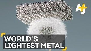 Boeing Creates Microlattice, The World's Lightest Metal