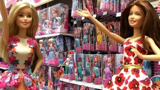 TOY HUNT with Barbie and Teresa !  Lots of toys - Shopkins, My Little Pony and more !