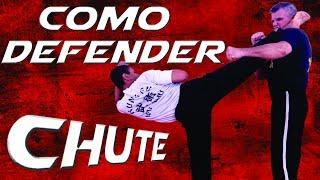 ESQUIVA DE CHUTE FORTE Técnicas de Luta Kung Fu Artes Marciais em Ação